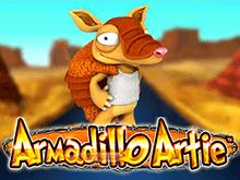 Игровые автоматы Игровой слот Armadillo Artie играть  со регистрацией на сайте Вулкан Ставка